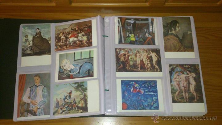 Postales: PINTURA - COLECCIÓN DE POSTALES DE PINTURA UNIVERSAL - ÁLBUM DE 170 POSTALES NUEVAS SC - Foto 4 - 53859419