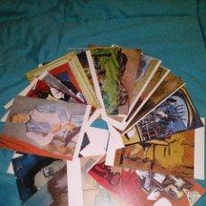 Postales: COLECCION 20 POSTALES DE OBRAS DEL MUSEO PICASSO DE BARCELONA EDIT. ESCUDO ORO AÑOS 70 SIN CIRCULAR. Lote 54114836