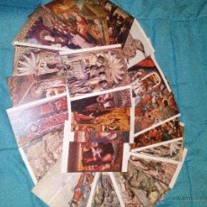 Postales: COLECCION 25 POSTALES MUSEO DE ARTE DE CATALUÑA EDIT. ESCUDO ORO AÑOS 70 SIN CIRCULAR. Lote 54115055