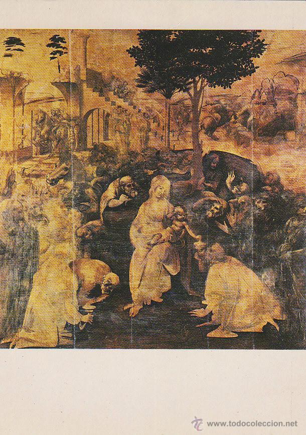 Leonardo Da Vinci La Adoracion De Los Reyes Ma Sold Through