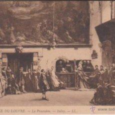 Postales: HELIOGRABADO MUSEO MUSÉE DU LOUVRE - 116 LA PROCESSION - ISABEY - REVERSO NO DIVIDIDO - PINTURA ARTE. Lote 54286912