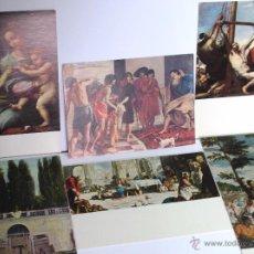 Postales: LOTE DE TARJETAS POSTALES / CUADROS MUSEO DEL PRADO. AÑOS 1962-73-74-77.. Lote 54468490