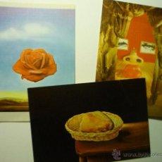 Postales: LOTE POSTALES PINTURAS DE SALVADOR DALI.-EDIC.MUSEO DALI FIGUERES CM. Lote 54486656