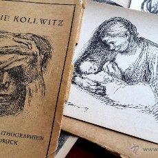 Postales: KÄTHE KOLLWITZ - 10 POSTALES 1931 - EDICIÓN A. V. DER BECKE. Lote 54559484