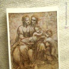 Postales: POSTAL NATIONAL GALLERY LEONARDO DA VINCI NUMERO 1325. Lote 54561333