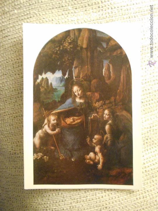 POSTAL NATIONAL GALLERY LEONARDO DA VINCI NUMERO 1098 (Postales - Postales Temáticas - Arte)