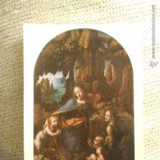 Postales: POSTAL NATIONAL GALLERY LEONARDO DA VINCI NUMERO 1098. Lote 54561387