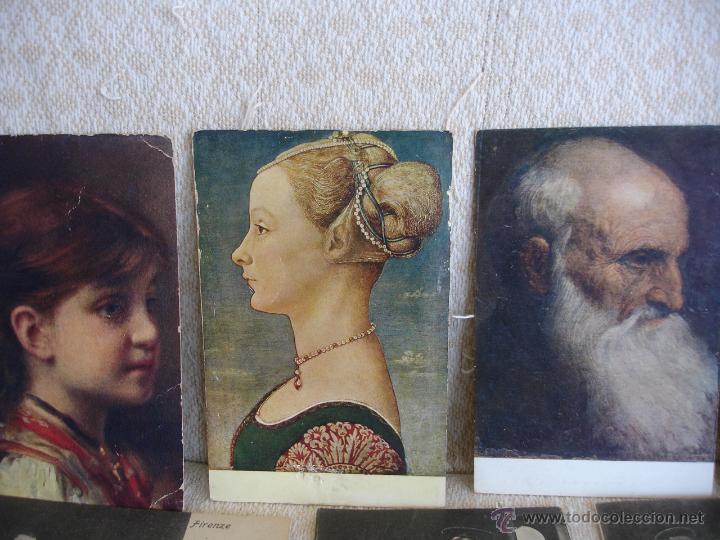 Postales: ESTUCHE EDITORIAL CON APROX. 95 POSTALES DE OBRAS EXPUESTAS EN EL MUSEO DE EL LOUVRE 1910 ca - Foto 4 - 54693494