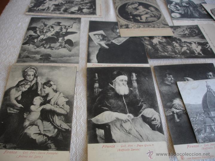 Postales: ESTUCHE EDITORIAL CON APROX. 95 POSTALES DE OBRAS EXPUESTAS EN EL MUSEO DE EL LOUVRE 1910 ca - Foto 6 - 54693494