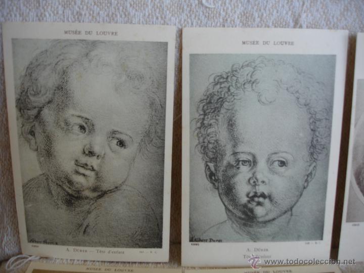 Postales: ESTUCHE EDITORIAL CON APROX. 95 POSTALES DE OBRAS EXPUESTAS EN EL MUSEO DE EL LOUVRE 1910 ca - Foto 12 - 54693494