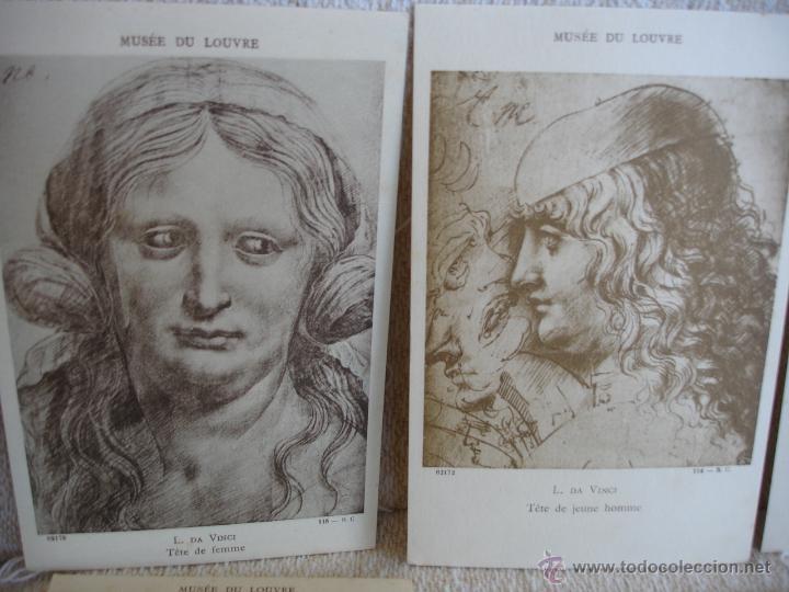 Postales: ESTUCHE EDITORIAL CON APROX. 95 POSTALES DE OBRAS EXPUESTAS EN EL MUSEO DE EL LOUVRE 1910 ca - Foto 14 - 54693494