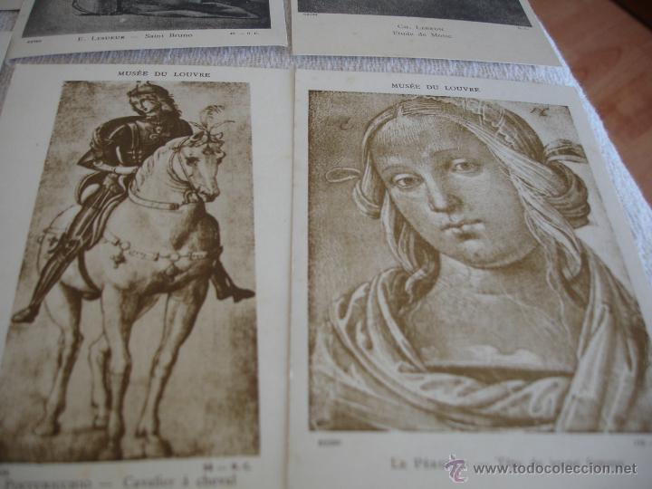 Postales: ESTUCHE EDITORIAL CON APROX. 95 POSTALES DE OBRAS EXPUESTAS EN EL MUSEO DE EL LOUVRE 1910 ca - Foto 15 - 54693494