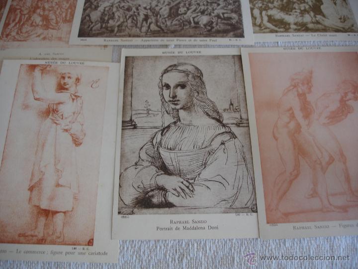 Postales: ESTUCHE EDITORIAL CON APROX. 95 POSTALES DE OBRAS EXPUESTAS EN EL MUSEO DE EL LOUVRE 1910 ca - Foto 17 - 54693494
