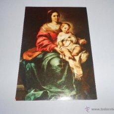 Postales: POSTAL MADONNA DEL ROSARIO - FIRENZE - GALLERIA PITTI - SIN CIRCULAR - FLORENCIA. Lote 54804879