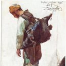 Postales: PS5490 THE HOLY LAND 'A WATER CARRIER'. OILETTE. TUCK AND SONS. 1906. Lote 46557503