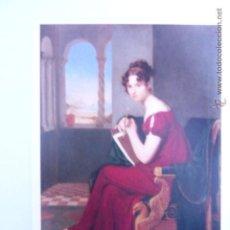 Postales: RETRATO DE JOVEN DAMA, 1816 DE CARL CHRISTIAN VOGEL VON VOGELSTEIN. Lote 54953560