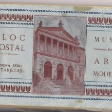 Postales: BLOC POSTAL MUSEO ARTE MODERNO. Lote 54954047