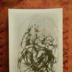 Postales: POSTAL BRITISH MUSEUM, LEONARD DA VINCI. Lote 55041556