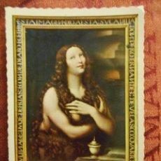 Postales: POSTAL MAGDALENA LEONARDO DA VINCI (CAPILLA CONDESTABLE). Lote 55041625