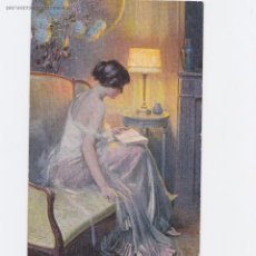 Postales: P- 4672. PAREJA DE POSTALES ENJORLAS. ROMAN D'A MOUR Y LISEUSE. Nº 1045 Y 450.. Lote 55048347