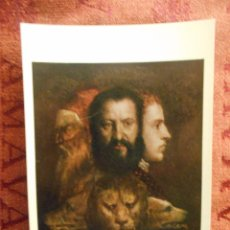 Postales: POSTAL NATIONAL GALLERY, TIZIANO, NUMERO 1411. Lote 55049982