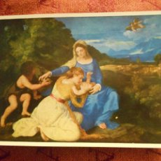 Postales: NATIONAL GALLERY, TITIAN, NUMERO 1201. Lote 55050087