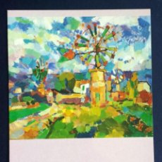 Postales: FLYER PUBLICIDAD TARJETA POSTAL PUBLICITARIA RAFAEL BESTARD MAS. Lote 55223437