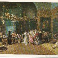 Postales: [POSTAL] BARCELONA. MUSEO DE ARTE MODERNO. ÓLEO. LA VICARÍA. MARIANO FORTUNY (1838 - 1874). Lote 55316974