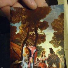 Postales: ANTIGUA POSTAL ARTE O RELIGIOSA - MUSEO DEL ESCORIAL TAPIZ - OFERTA LOTES - . Lote 55323948