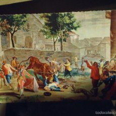 Postales: ANTIGUA POSTAL ARTE O RELIGIOSA - MUSEO DEL ESCORIAL TAPIZ - OFERTA LOTES - . Lote 55323964