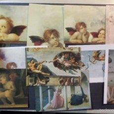 Postkarten - Lote de 12 postales de Arte Italianas sin circular - 55912005