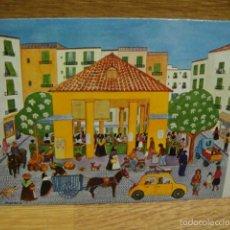 Postales: MARGOT TATE - IBIZA , MERCADO. Lote 56587778