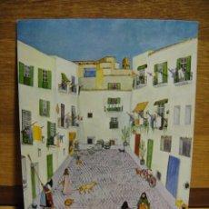 Postales: MARGOT TATE - IBIZA , CALLE TIPICA. Lote 56587800