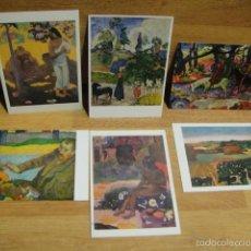 Postales: PAUL GAUGUIN - 6 POSTALES. Lote 56654671