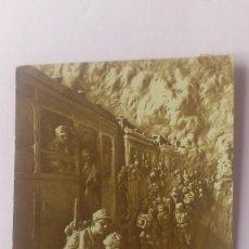Postales: POSTAL FOTOESCULTURA, D. MASTROIANNI, MILAN, CIRCULADA AÑO 1916. Lote 57137519