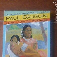 Postales: PAUL GAUGUIN.30 POSTALES. Lote 57558157