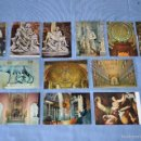 Postales: LOTE 12 POSTALES ESCULTURA Y PINTURA - ROMA - BUEN ESTADO - SIN CIRCULAR - ARTE SACRO. Lote 58377228