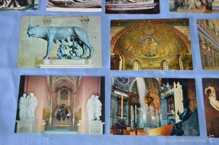 Postales: Lote 12 postales escultura y pintura - Roma - Buen estado - Sin circular - arte sacro - Foto 4 - 58377228