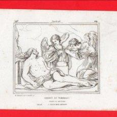 Postales: ANTIGUA POSTAL / LÁMINA - ARTE / RELIGIÓN - JESUCRISTO EN EL SEPULCRO - GUERCHIN - 46/164. Lote 58523889