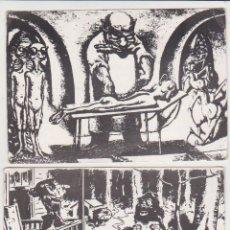 Postales: 2 POSTALES.- DIBUJOS DE T.S.SULLIVAN Y A. PAUL WEBER. 1974.. Lote 58538028