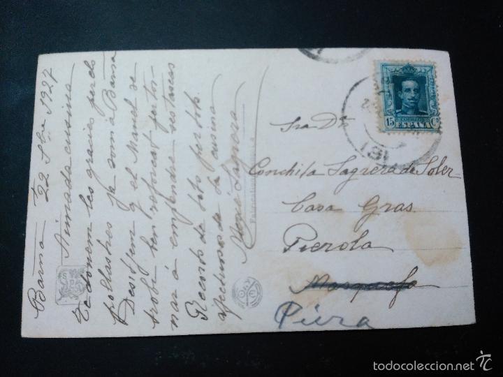 Postales: postal de la pintura de georges h dilly. salon de paris. circulada 1927. de barna a pierola - Foto 2 - 59728891