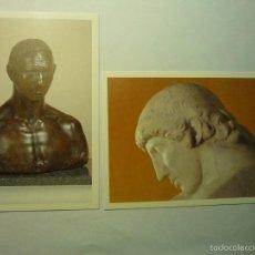Postales: LOTE POSTALES TARRAGONA -ESCULTOR JULIO ANTONIO -TARRAGONA -MORA D´EBRE. Lote 177627137