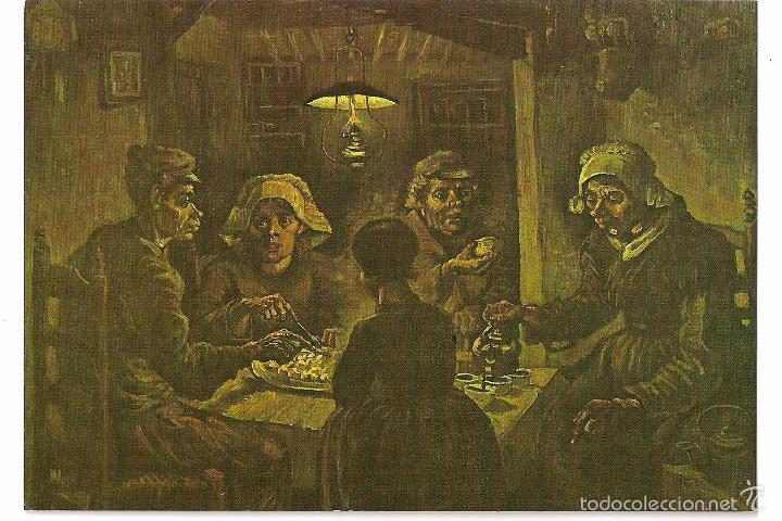 van gogh . los comedores de patatas . postal - Buy Old Postcards of ...