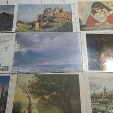 Postales: POSTALES DE OBRAS FAMOSAS AÑOS 80. Lote 61169819