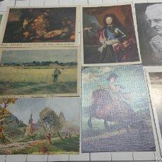Postales: POSTALES DE CUADROS FAMOSOS AÑOS 80. Lote 61171733