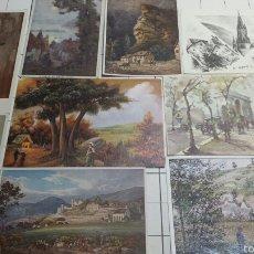 Postales: POSTALES DE CUADROS FAMOSOS AÑOS 70 . Lote 61177026