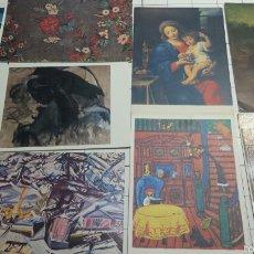 Postales: POSTALES DE CUADROS FAMOSOS AÑOS 90. Lote 61177319