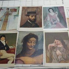 Postales: POSTALES DE CUADROS FAMOSOS AÑOS 70. Lote 61179290