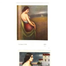 Postales: 8 POSTALES-TARJETAS ROMERO DE TORRES . Lote 61201843