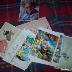 Postales: IMPRESIONANTE COLECCIÓN DE 31 POSTALES DE COLL BARDOLET AL MUSEU DE LLUC. INCLUYE ESTUCHE. MALLORCA. Lote 61658220